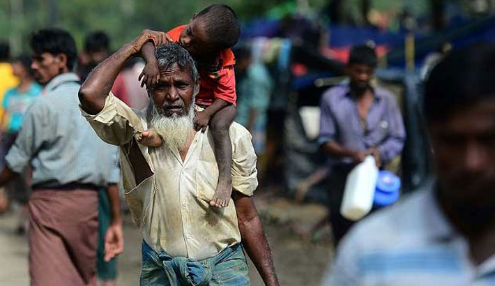 Aid groups want voluntary  return of Rohingyas