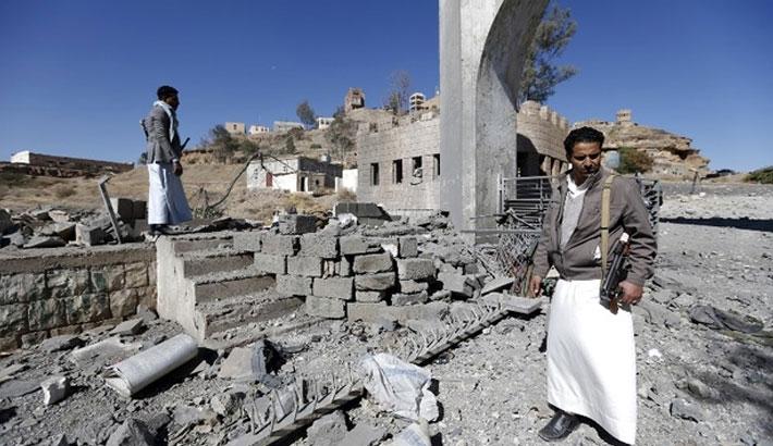 Four killed in Saudi-led strike on Yemen TV station