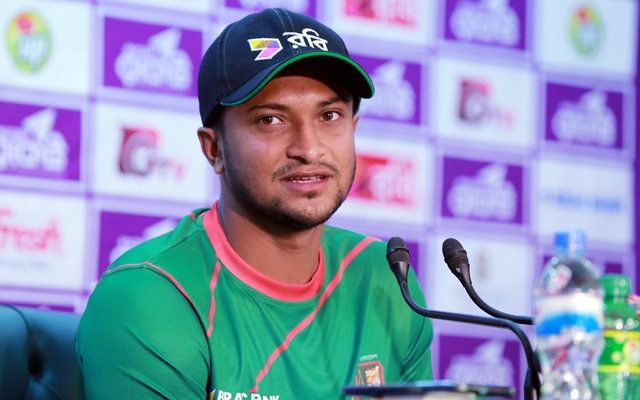 Shakib Al Hasan new captain of Bangladesh Test team