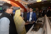 Prime Minister praises Walton made products at Digital World