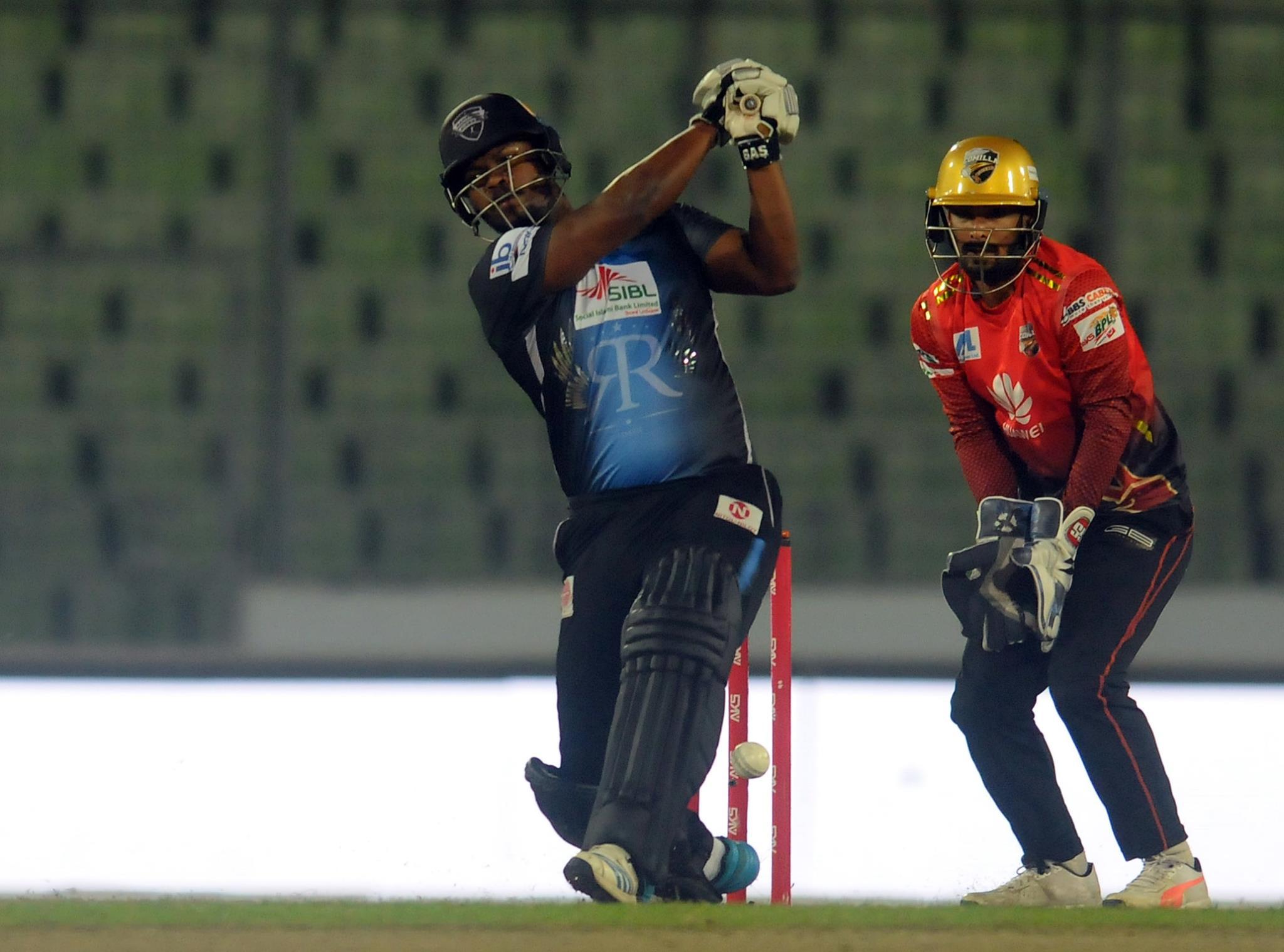Charles unbeaten 105, McCullum 78 power Rangpur to 192