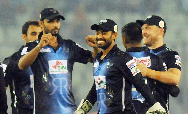 Rangpur Riders step into final beating Comilla Victorians by 36 runs