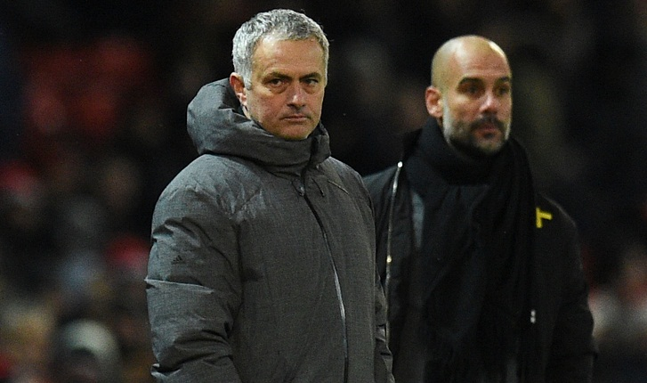 Man City down title rivals Manchester United