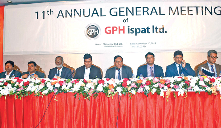 GPH Ispat announces 10pc dividend