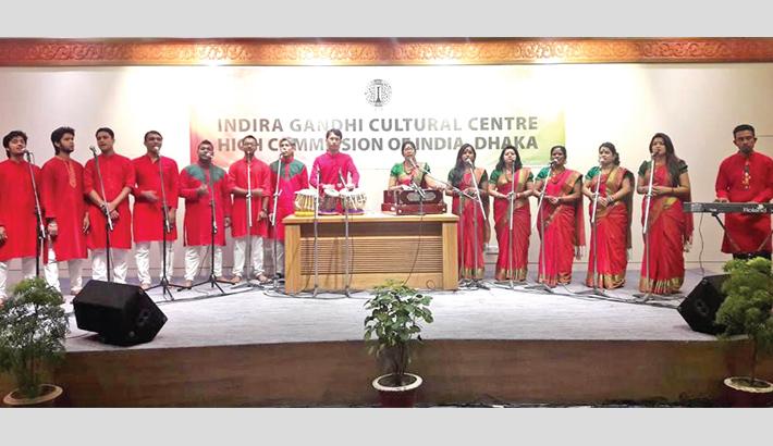 Bonhishikha mesmerises audience at National Museum