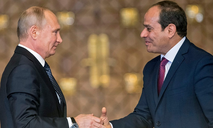 Cairo, Moscow sign contract for Egypt's first nuclear plant