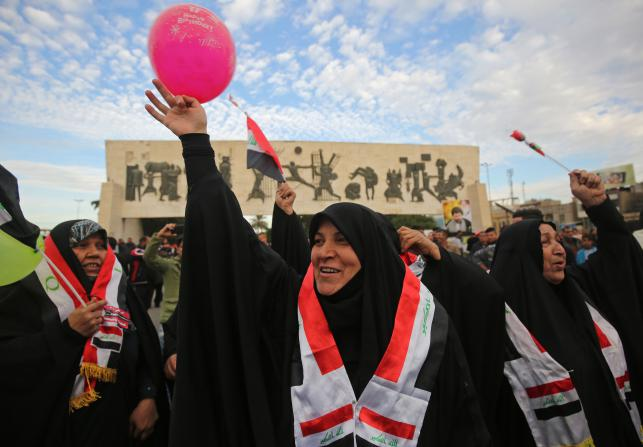 Iraq celebrates victory over IS