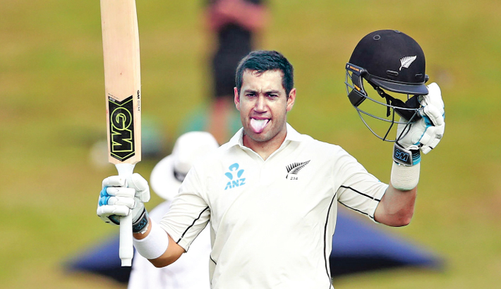 Record-equalling Taylor puts NZ in command