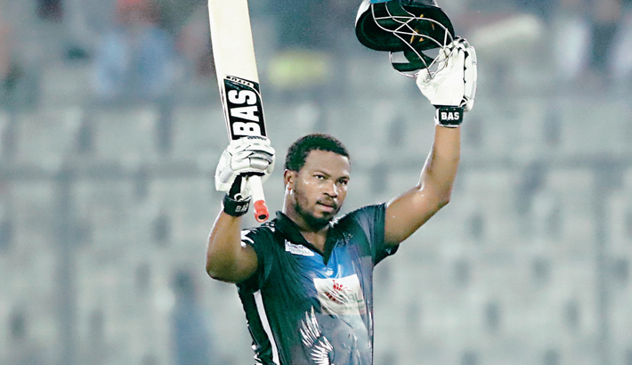 Rangpur Riders opener Johnson Charles