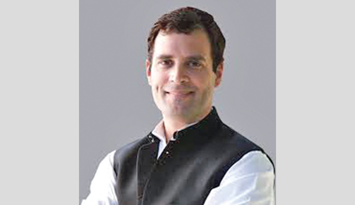 Rahul officialy named Congress president