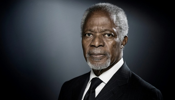Leaders needed to fix global 'mess', says Kofi Annan