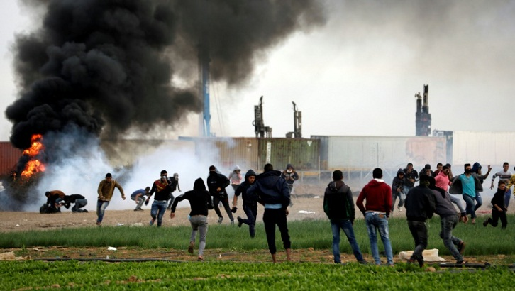 Two Palestinians killed in Gaza, Israel denies attack claim