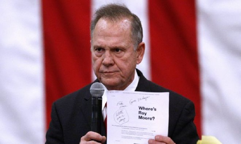 Alabama Senate race: Trump records message for Roy Moore