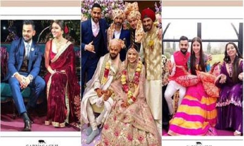Anushka Sharma-Virat Kohli wedding: Candid clicks of the blushing bride