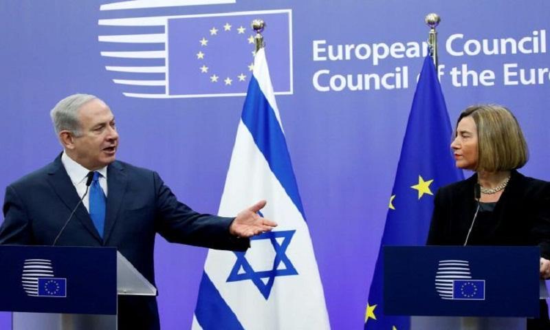 EU's Federica Mogherini rebuffs Netanyahu on Jerusalem