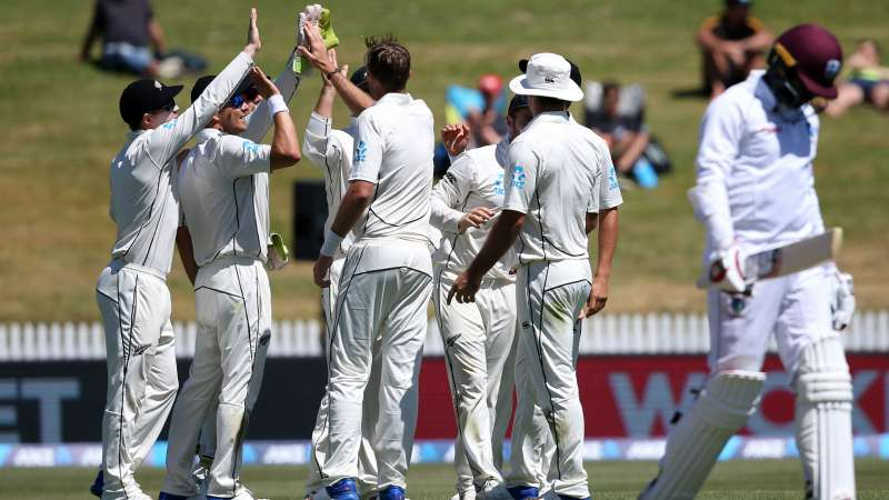 New Zealand beats West Indies by 240 runs in 2nd test