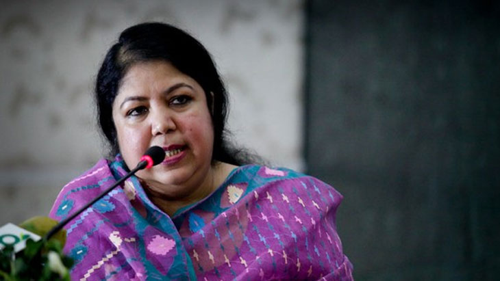Speaker Shirin Sharmin Chaudhury visits Pirganj Wednesday