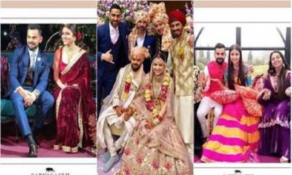 3aa21cd5174 Anushka Sharma-Virat Kohli wedding  Candid clicks of the blushing bride