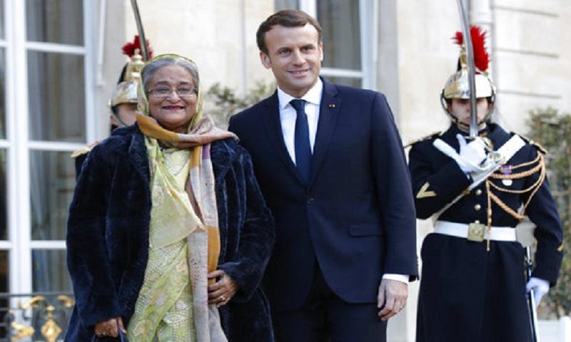 France backs Bangladesh for solution to Rohingya crisis