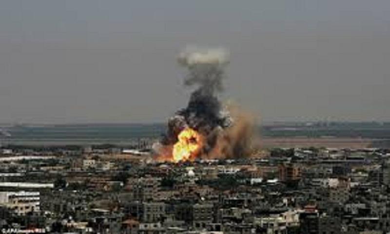 Israel hits Hamas in Gaza after rocket fire at Israeli city