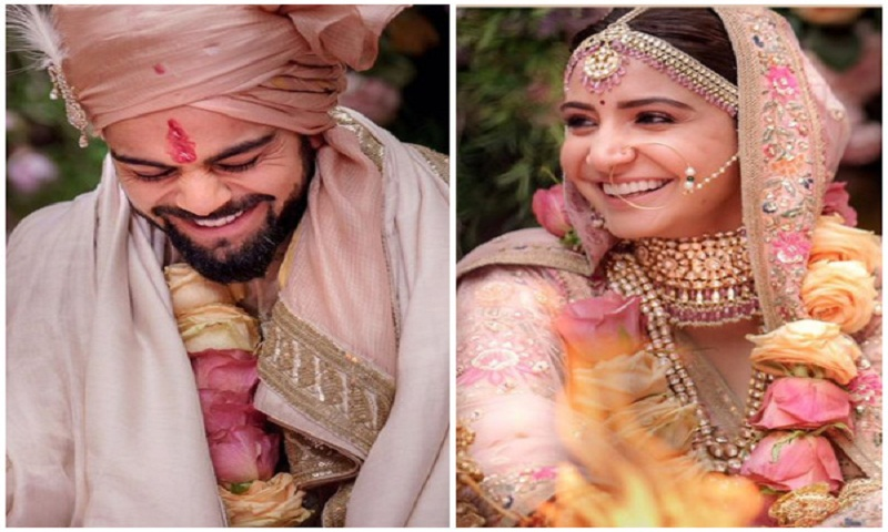 Newlyweds Virat Kohli and Anushka Sharma off to Rome for their honeymoon
