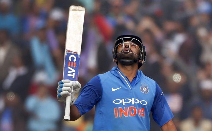 Rohit Sharma's third ODI double ton powers India to 392/4