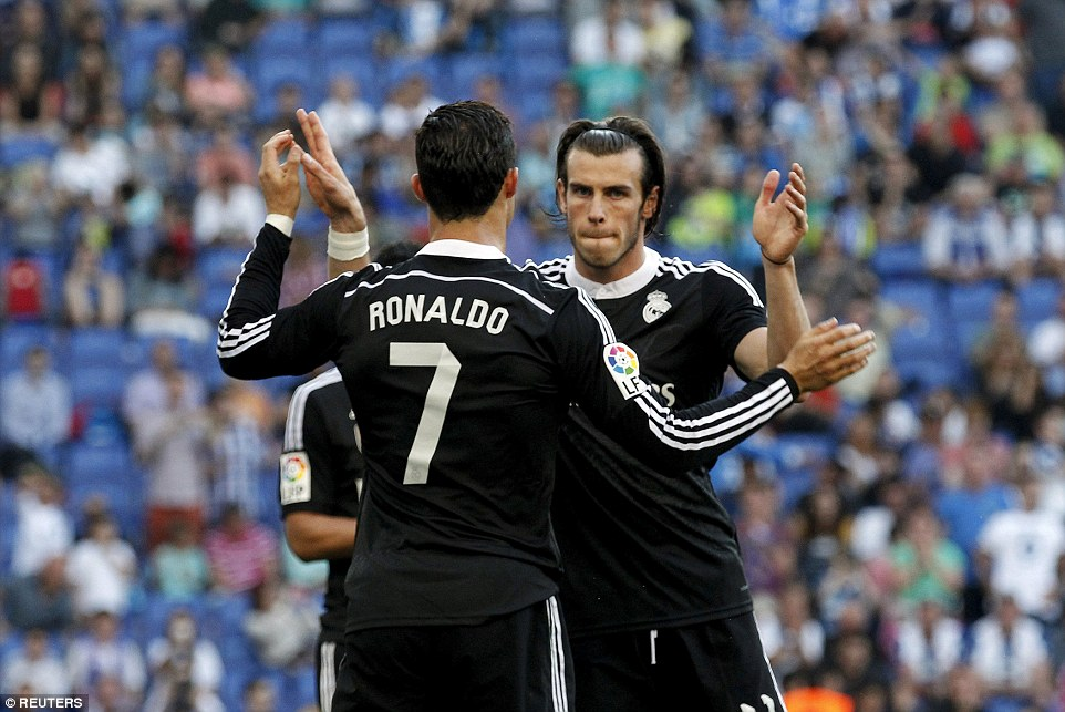 Ronaldo, Bale help Real Madrid beat Al Jazira 2-1
