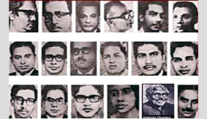 Martyred Intellectuals Day being observed