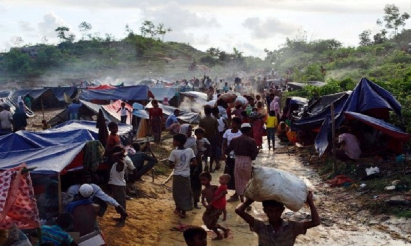 Over 20 shops serving Rohingyas of Leda Camp gutted by fire