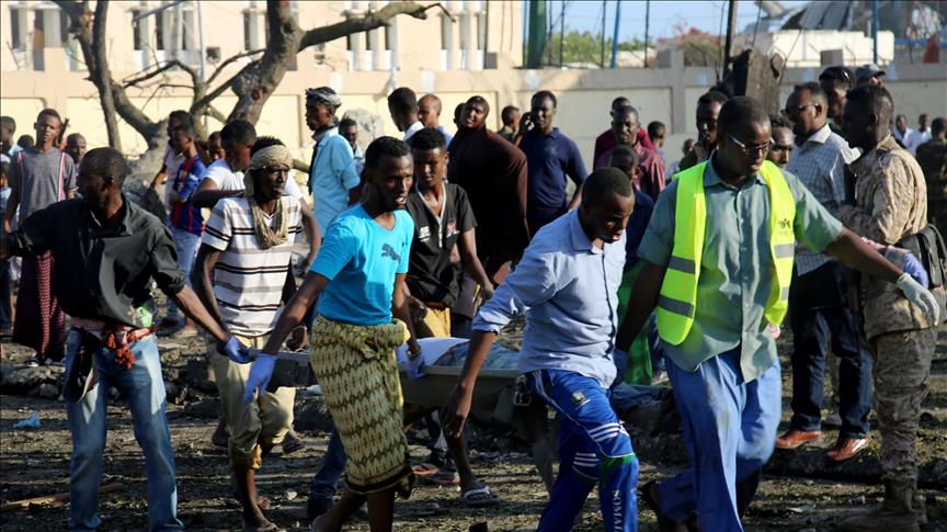 Death toll rises to 17 in suicide bombing at Somalia police academy
