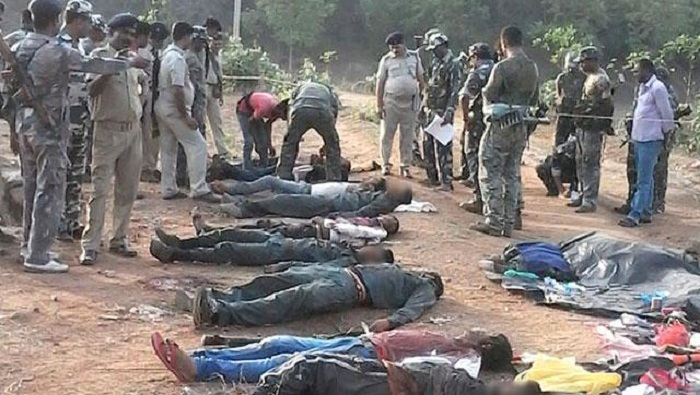 Indian police ambush Maoist rebels, killing eight