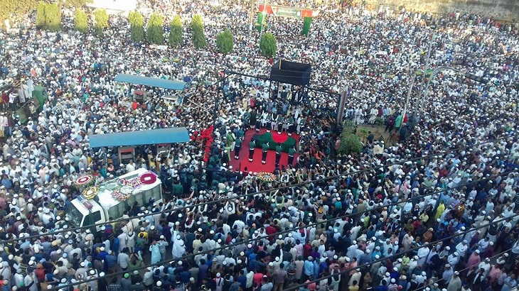 Thousands join Mohiuddin Chowdhury's janaza