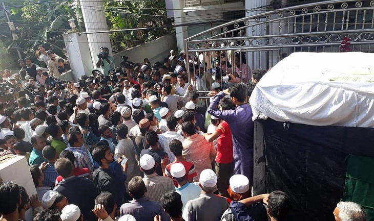 Mohiuddin Chowdhury to be buried beside his father's grave
