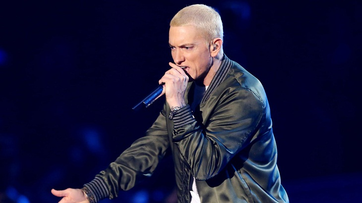 With new album, Eminem finds political voice