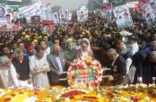 Khaleda pays tributes to Liberation War heroes