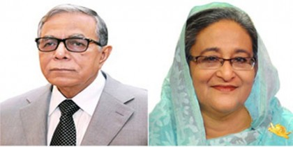 President, Prime Minister greet guests at Victory Day reception