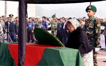Prime Minister pays tribute to Sayedul Hoque