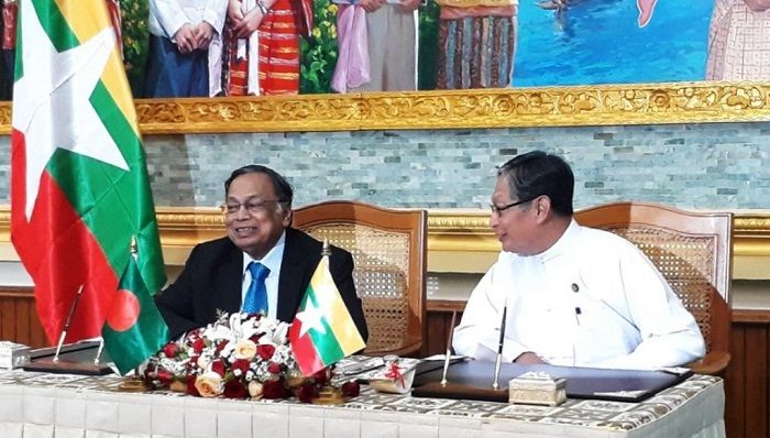 BD-Myanmar talks on working group formation Tuesday