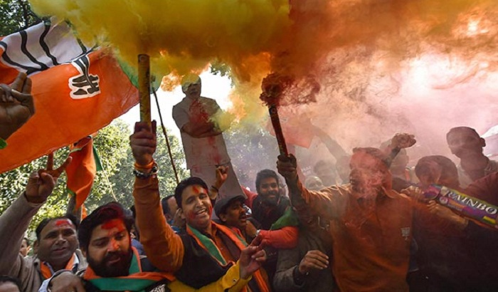 Indian Congress party concedes defeat to Modi's BJP