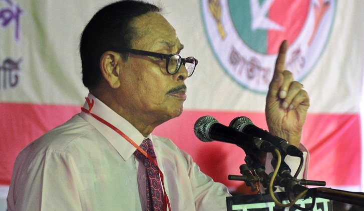 No need for army deployment in RpCC Elections: Ershad