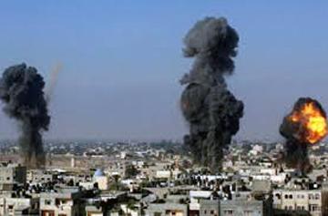 Israel targets Hamas site in Gaza after rocket fire