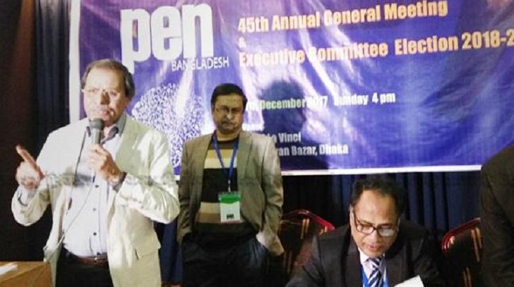 Syed Manzoorul Islam elected President of Pen Bangladesh