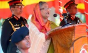 Prime Minister Sheikh Hasina urges Armed Forces to work together with people