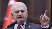 Turkish Prime Minister Binali Yildirim arrives in Dhaka