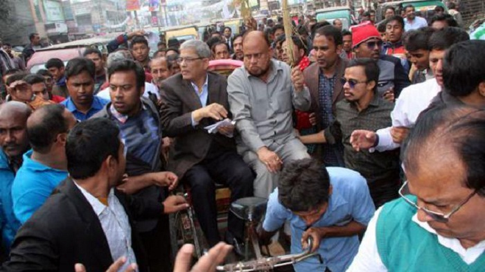 Fakhrul accuses Ershad of influencing Rangpur polls