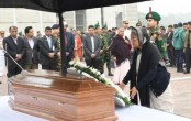 Prime Minister pays last tribute to Golam Mostafa MP