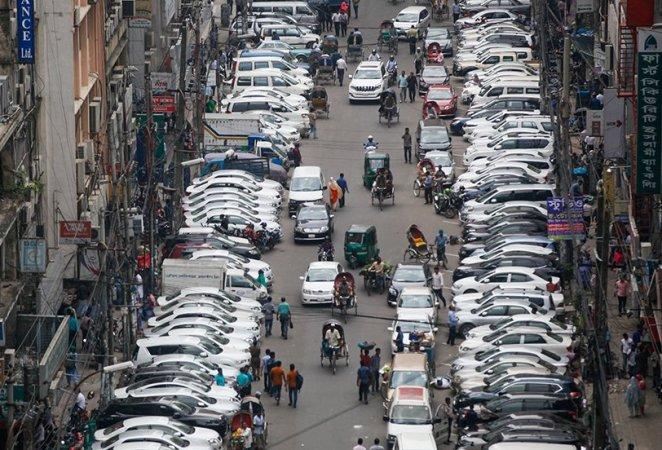 DMP designates 39 on-street parking lots in Dhaka