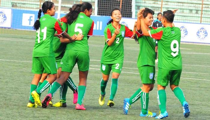 Bangladesh thru to SAFF U15 Women's Championship final