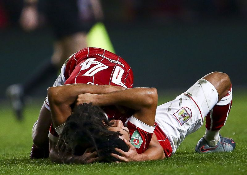 Bristol City dump holders Manchester United out of League Cup