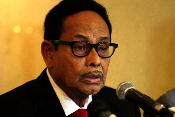 Rangpur City polls a test for Election Commission: Ershad